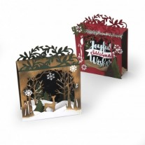 Sizzix Thinlits Die - Holiday Shadow Box