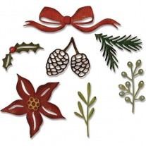 Sizzix Thinlits Die - Verdures festives