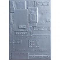 Sizzix Plaque embossage 3D Fonderie