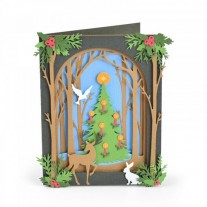 Sizzix Die Thinlits Shadow Box Noël