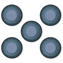 Sizzix Die Thinlits Tuiles empilées cercles