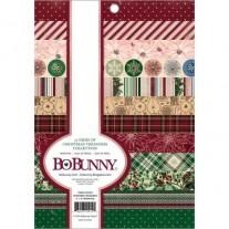"""Bo Bunny Pad 6"""" X 8"""" Trésors de Noël"""