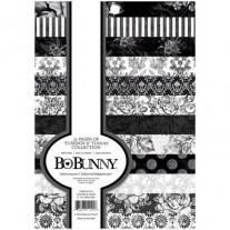 "Bo Bunny Pad 6""x8"" Tuxedos & Tiaras"