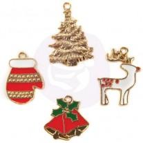 Charms Breloques Prima émaillés Noël