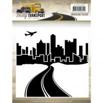 Amy Design Plaque Embossage Transport