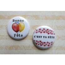 Herazz Badges Bonne Fête