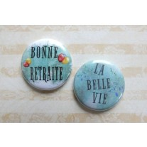 Herazz Badges Bonne Retraite