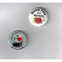 Herazz Badges Bonne fête des Mères