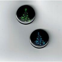 Herazz Badges Sapins illuminés