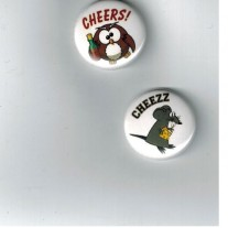 Herazz Badges Cheers - Cheeezz