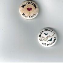 Herazz Badges Amitié - Amis