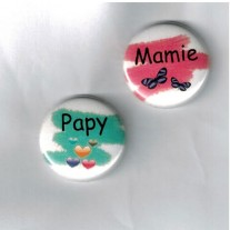 Herazz Badges Papy Mamie