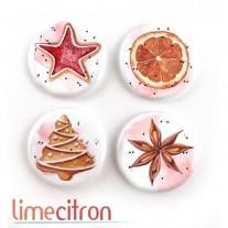 Limecitron Badges Biscuits