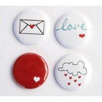 Limecitron Badges Lettre