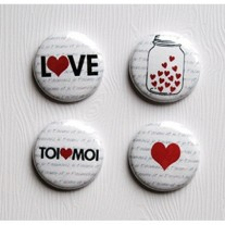 Limecitron Badges Pot d'Amour