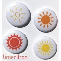 Limecitron Badges Soleil