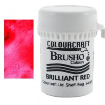 Brusho Crystal Colour Brilliant Red