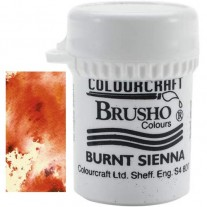 Brusho Crystal Colour Burnt Sienna