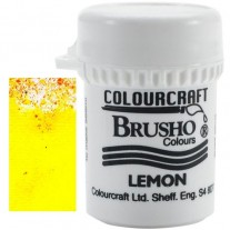 Brusho Crystal Colour Citron