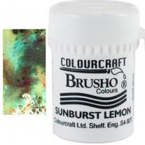 Brusho Crystal Colour Vert olive