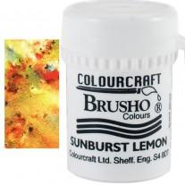 Brusho Crystal Colour Jaune ocre