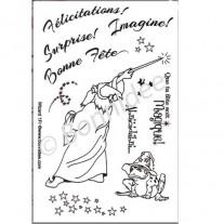 Étampe Bonnidée Magicien