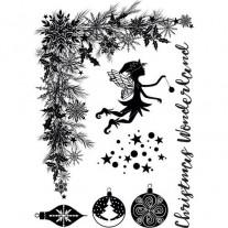 Crafter's Companion Étampe Pays des merveilles de Noël