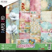 "Ciao Bella Pad 12""X12"" Sound Of Spring"