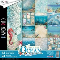 "Ciao Bella Pad 12""X12"" Under the Ocean"