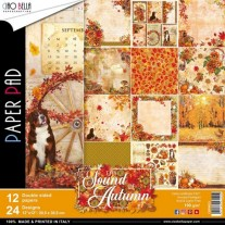 "Ciao Bella Pad 12""X12"" Sound Of Autumn"