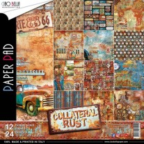 "Ciao Bella Pad 12""X12"" Collateral Rust"