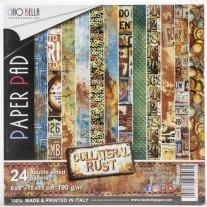 "Ciao Bella Pad 6""X6"" Collateral Rust"
