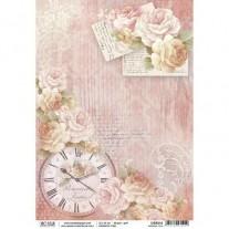 Ciao Bella Papier de Riz Temps Romantique