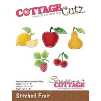 CottageCutz Die Points de Couture Fruits