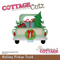 CottageCutz Die Pickup de Noël