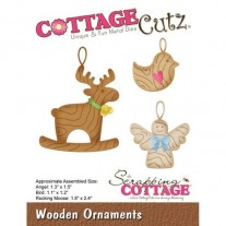CottageCutz Die Ornements en Bois