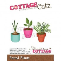 CottageCutz Die Pots de Fleurs