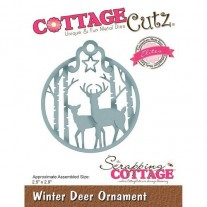 CottageCutz Elites Die Ornement Chevreuils