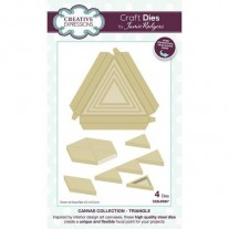 Creative Expressions Dies Collection Canvas Triangle