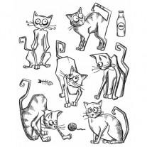 Étampe Crazy Cats
