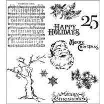 Étampe Mini Holidays 3