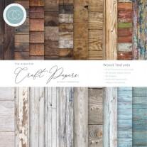 "Craft Consortium Pad 6""X6"" Textures de Bois"