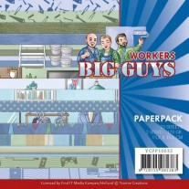 "Yvonne Creations Pad 6""X6"" Big Guys Workers"