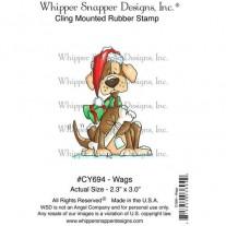 Whipper Snapper Étampe Drôle de chien