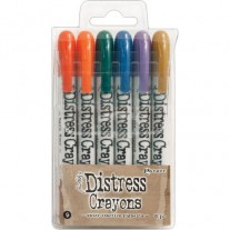 Ensemble de Crayons Distress No. 9