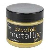 Deco Foil Metallix Gel Pure Gold