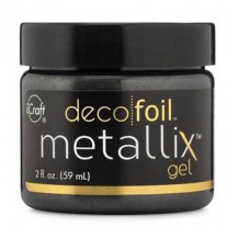 Deco Foil Metallix Gel Black Ice