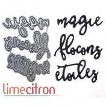 Limecitron die Magie Flocons Étoiles