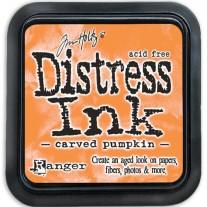 Distress Ink Carved Pumpkin