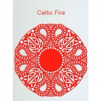 Cheery Lynn Doily Celtic Fire
